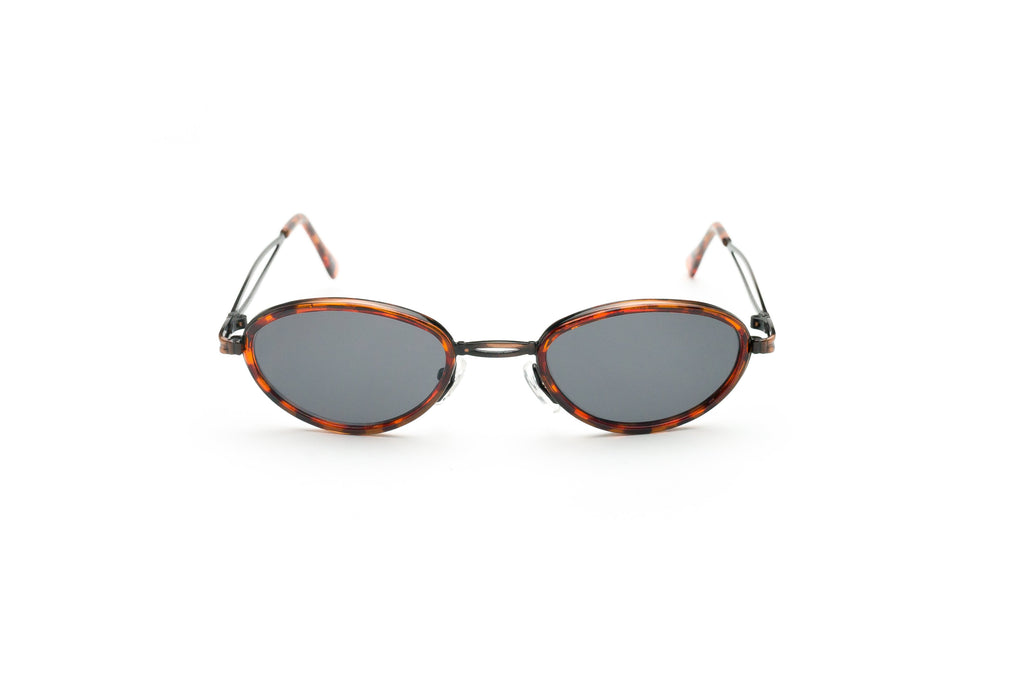 Y2K Vintage Tiny Tinted Small Blockers Oval Sunglasses