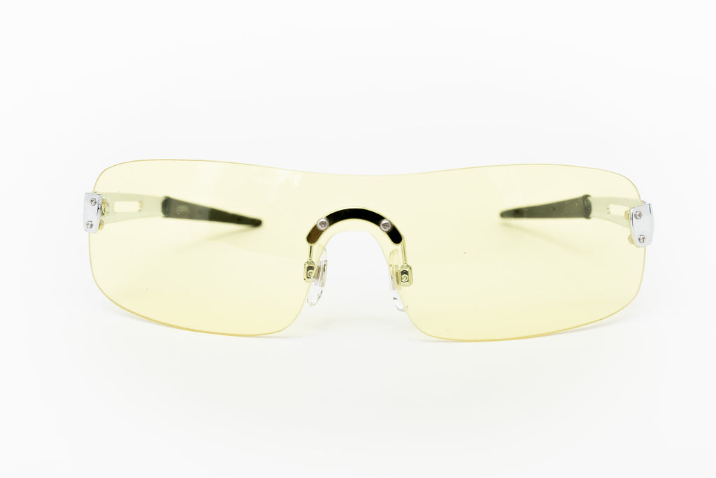 """Clint"" 2000's Vintage Y2K Shield Sunglasses"