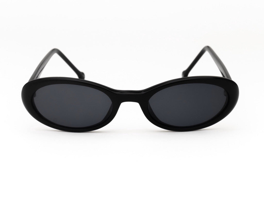 1990's Vintage Letty Ortiz Slim Oval Sunglasses