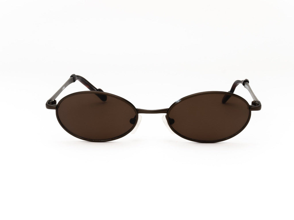 1990's Vintage Ultra Tiny Oval Blockers Micro Sunglasses