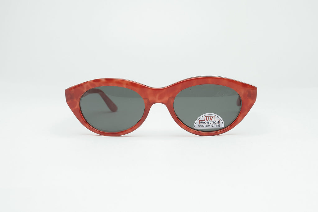 1980's Vintage Deadstock Chunky Cat Eye Colored Sunglasses