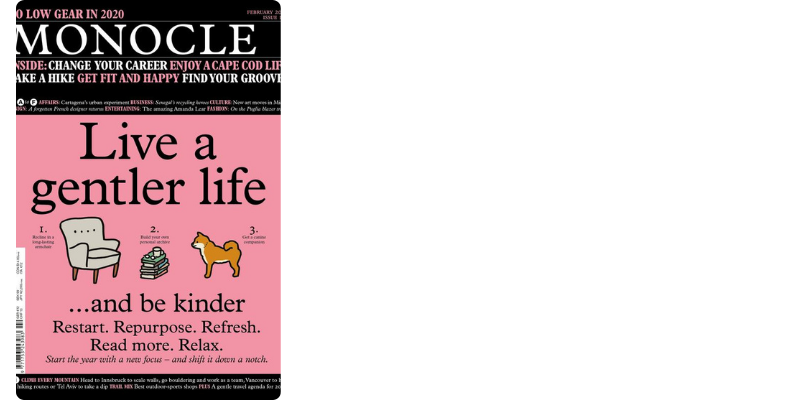 20 magazines to add to your coffee table - Monocole