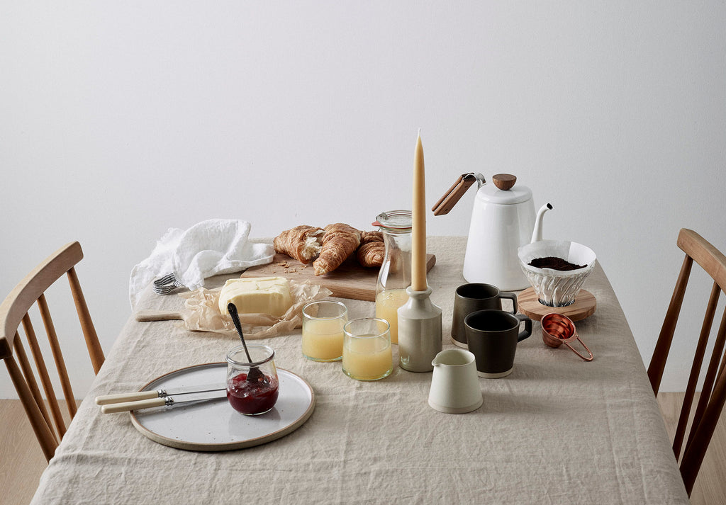 Object Story slow weekends tablescape