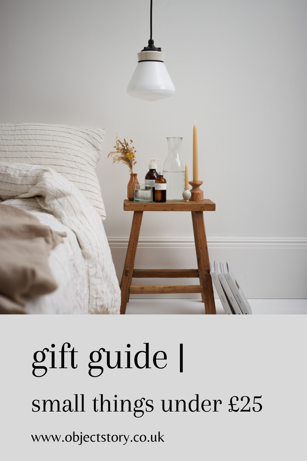 object story independent store gift guide 2020 - small things under £25