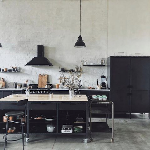 design tales industrial style kitchen