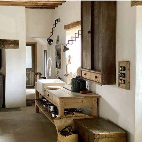 object story rustic kitchen design