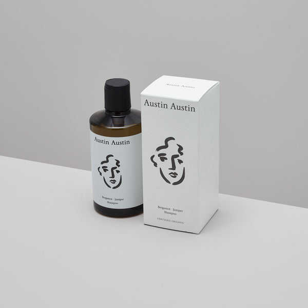 Product image of Bergamot and juniper shampoo