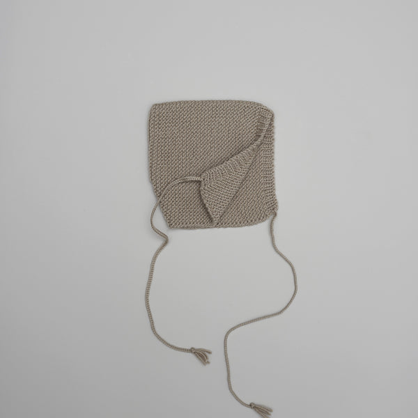 Product image of Handknitted merino wool bonnet