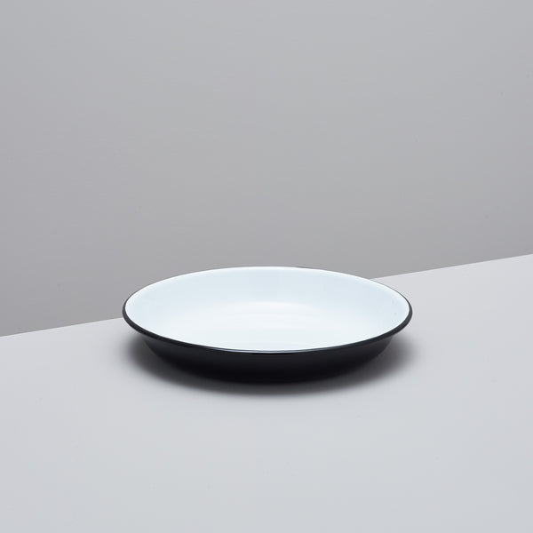 Product image of Enamel deep plates – set of four