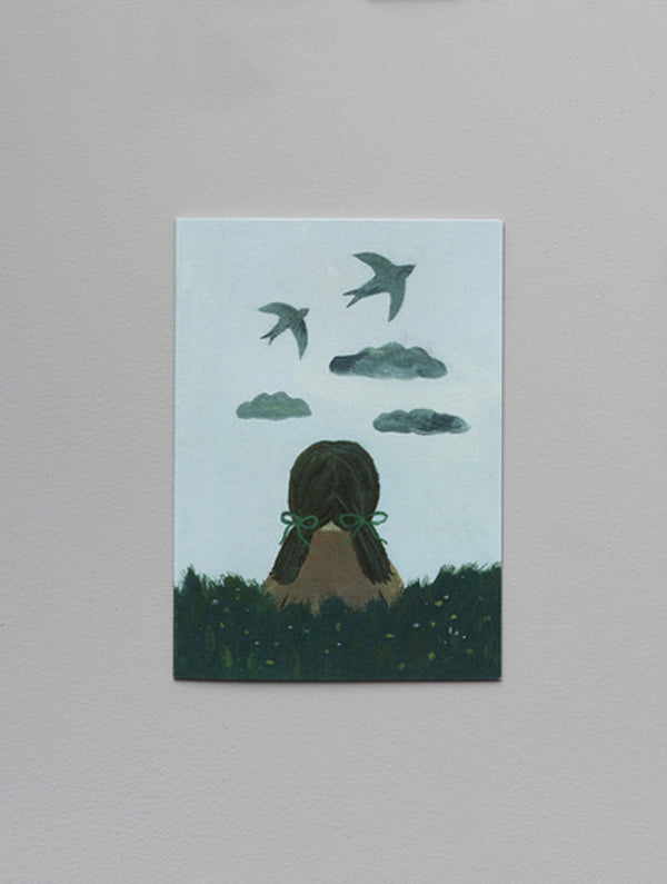 Women in nature ~ set of three cards
