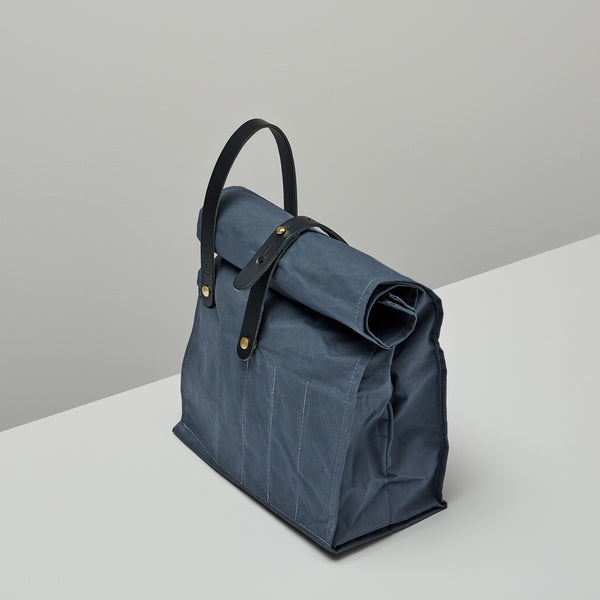 Product image of Roll top bag ~ grey & black