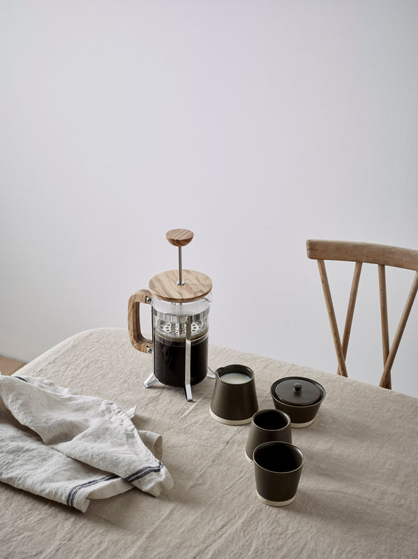 object story morning breakfast tablescape coffee scene