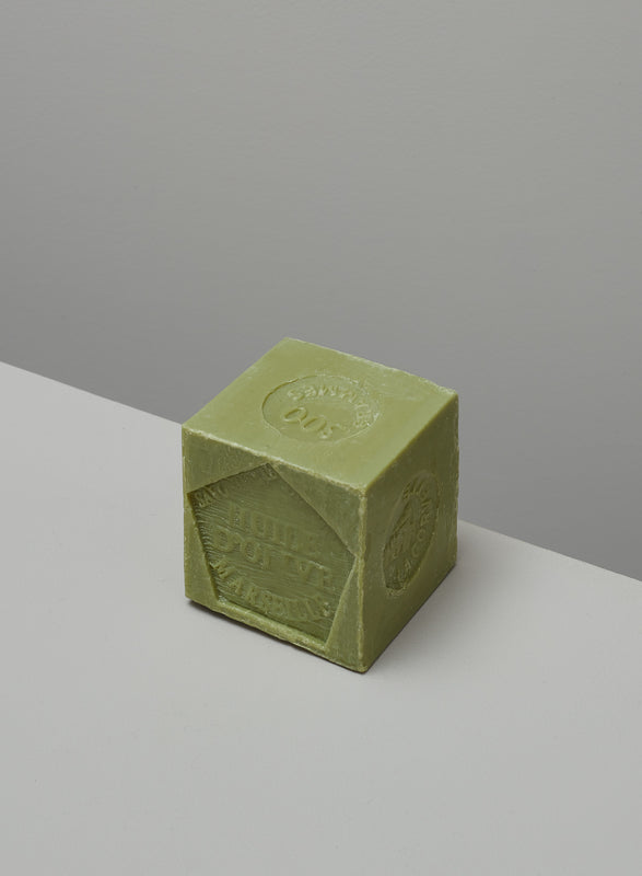Marseille olive soap block