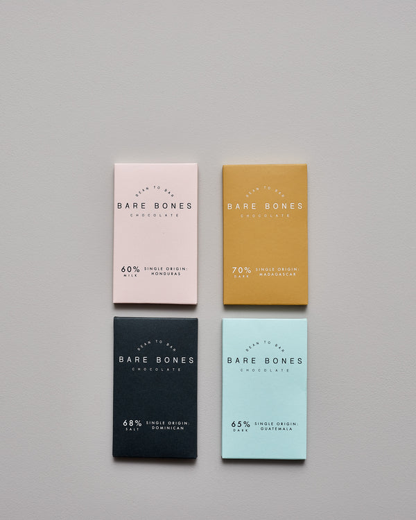 Organic chocolate ~ mini bar collection