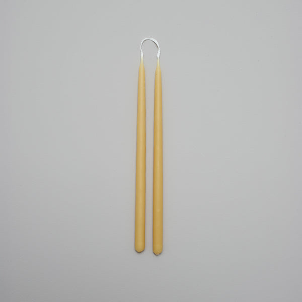 Product image of Thin tapered beeswax candle