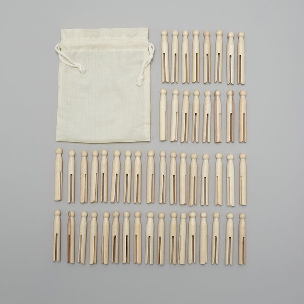Product image of Wooden clothes pegs