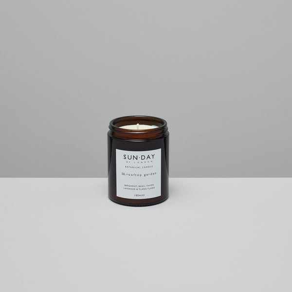Product image of Botanical candle ~ rooftop garden