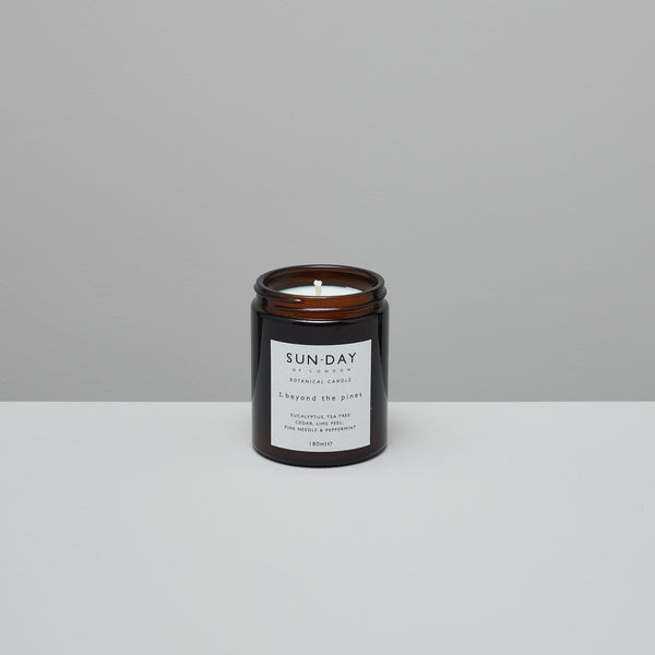 Product image of Botanical candle ~ beyond the pines