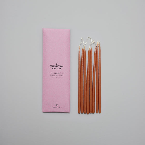 Product image of Cherry blossom beeswax celebration candles