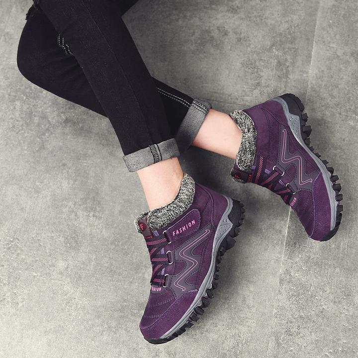 Warm Comfy Ankle Boots (Women)