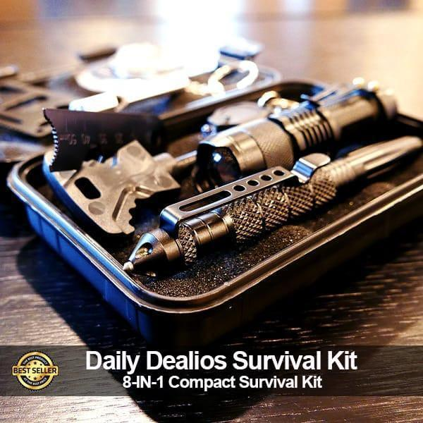 8 in 1 Tactical Survival Kit