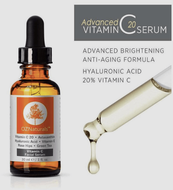 Advanced O2 Natural Vitamin C Serum