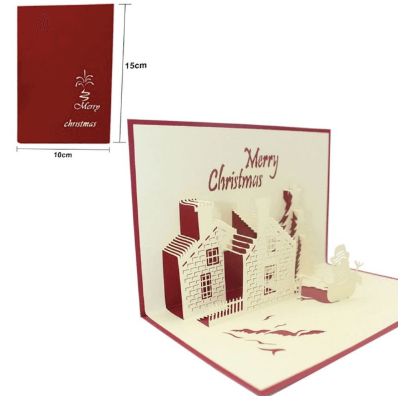 Christmas Pop Card (We Send For You Campaign)