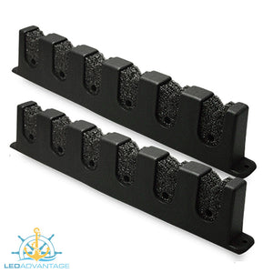 Horizontal Marine Boat 6-Rod Holder Storage Rack