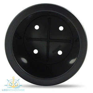 Black Standard Size Recessed Drink Holder