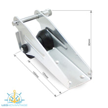 Load image into Gallery viewer, Aluminium Alloy Bow Roller (190mm) - Bolt Mounted