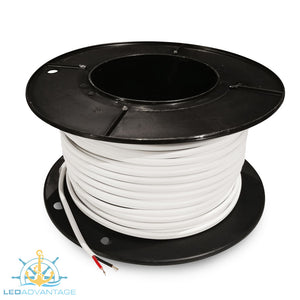 2mm 7 Amp Marine Grade Tinned Twin-Core Wire (50m Roll)
