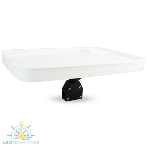 Deluxe Small Bow Rail 515x355mm Marine Boat Bait Board with Tackle Trays & Waste Tray