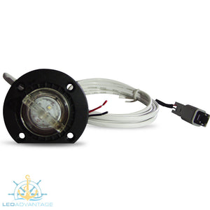 12v 2 Watt Large Underwater Bung Light & Base (White LED)