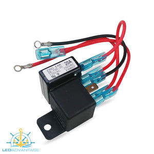 12v 20A Booster Relay Kit for Membrane Switch Panel