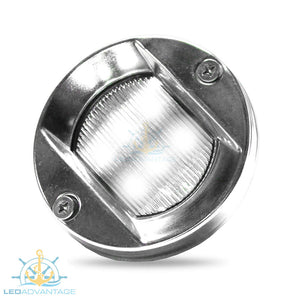 "12v 304 Stainless Steel Round 75mm/3"" 1.5 Watt LED Cockpit Light"