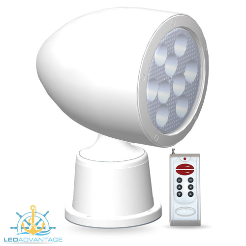 12v~24v 27 Watt LED Wireless Remote Control Search Light