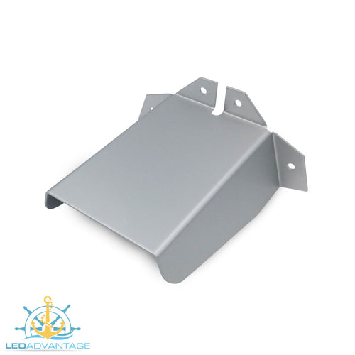Aluminium Small 100mm Transducer Bracket Spray Deflector Cover