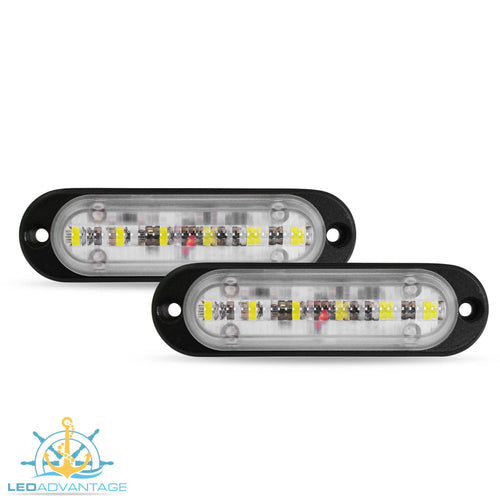 12v~24v 9 Watt Versatile Compact Utility Compartment & Cargo LED Lights (Pair)