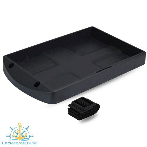 Large Battery Hold-Down Tray & Strap