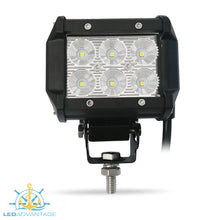 Load image into Gallery viewer, 12~24v 18 Watt Cree 6-LED Work/Boat Light
