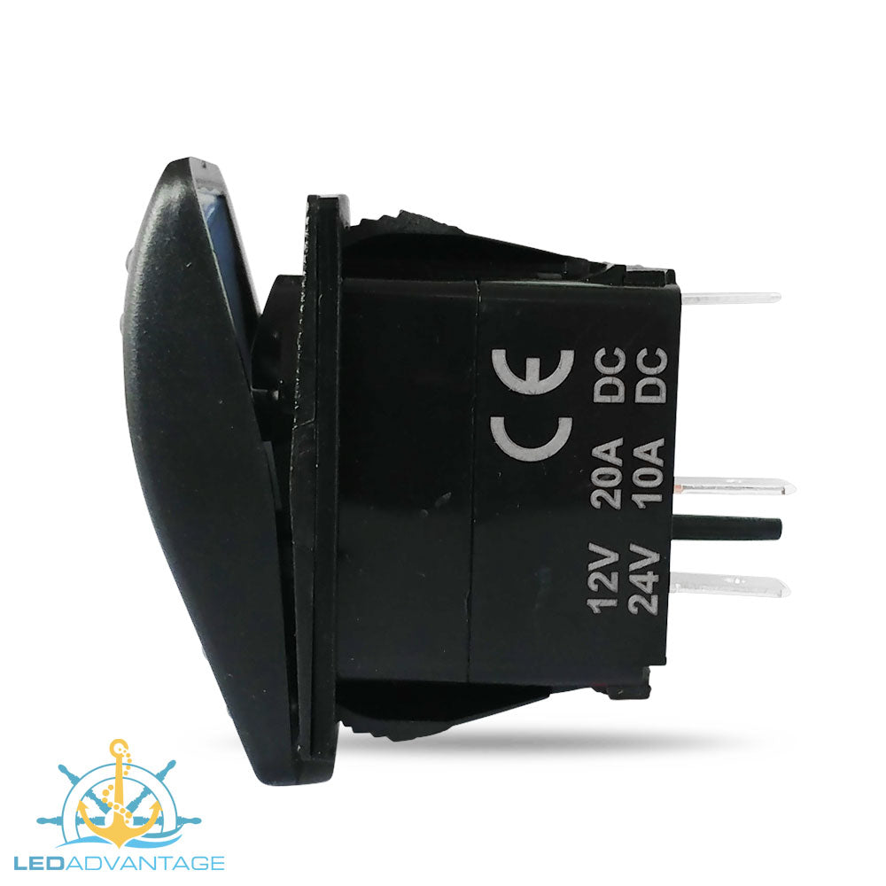 12v24v Multiv Series Led Carling Style Illuminated On Off Rocker Offon Switch Switches Electrical Products Load Image Into Gallery Viewer