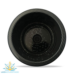 Carbon Print Large Twin Size Recessed Drink Holder & Water Exit Drain