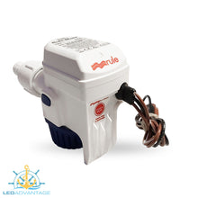 Load image into Gallery viewer, 12v Compact Fully Submersible Automatic Sensor Bilge Pump - 500GPH/1,860LPH