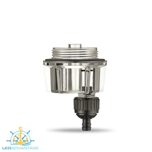 Boat Compact Easy-Fit Mini Water Fuel Separating Filter System (Suit up to 70HP Outboard Motor)