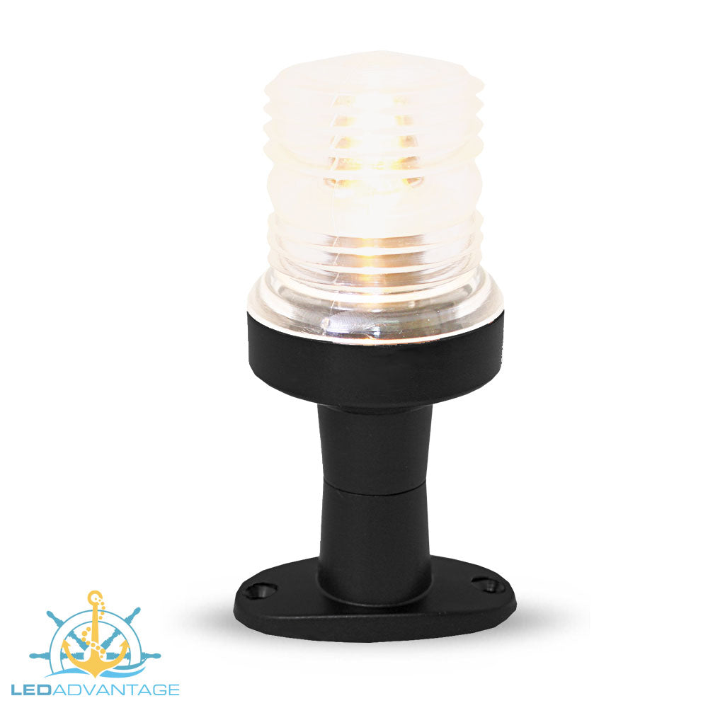 12v 8w  360 Degree Halogen All-Round Pedestal Masthead Light