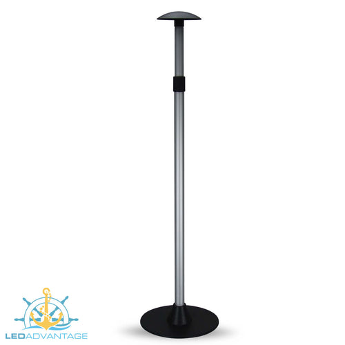 Telescopic Boat Cover Pole with Dome
