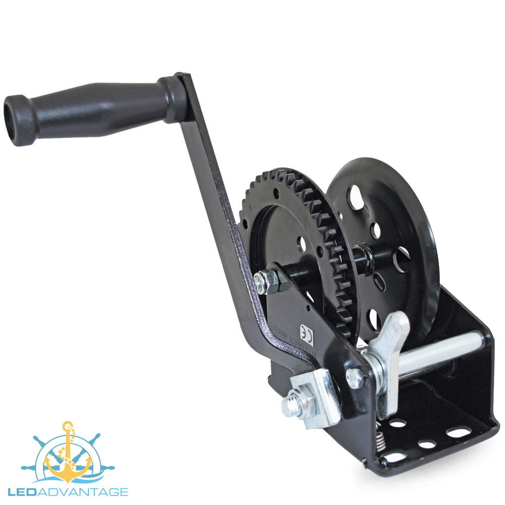 Standard Manual Trailer Winch 635KG/1400LB
