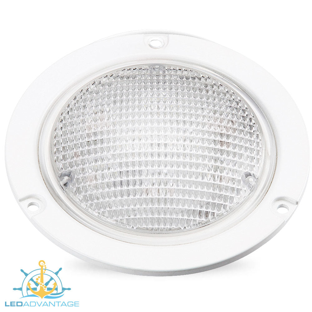 13w LED Flush/Recessed Mount Waterproof Exterior Dome