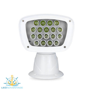 12v Deluxe 100w 18-LED Marine Remote Controlled Spot Light (4,000 Lumens)