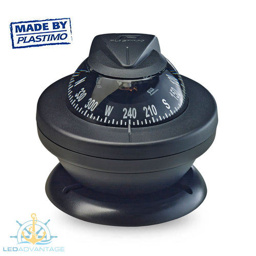 Offshore 55 Power Boat Compass (Black)